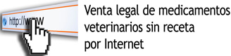 Legal sale of non-prescription veterinary medicines over the internet