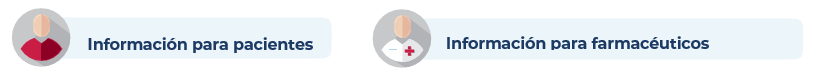 Información para pacientes y farmacéuticos